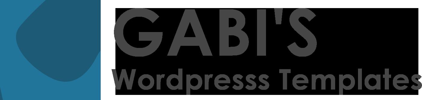 Gabi's WordPress Templates
