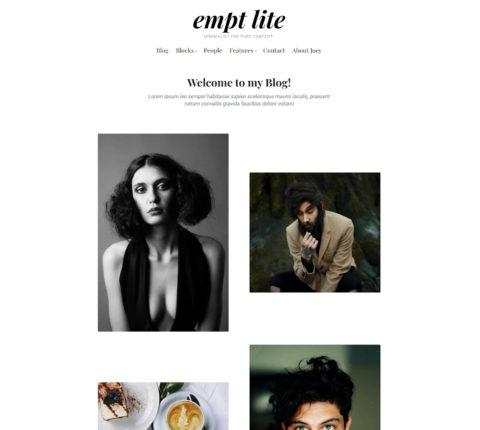 empt lite gallery layout 480x430 - Rough Pixels veröffentlicht Empt Lite, ein Block-unterstütztes Freemium WordPress Theme